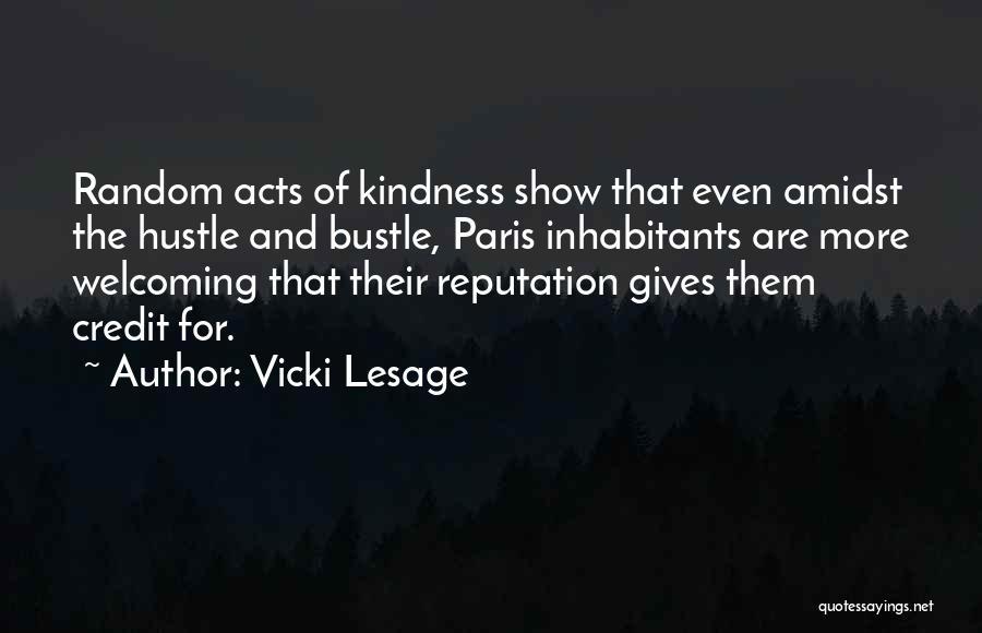 Vicki Lesage Quotes 74943