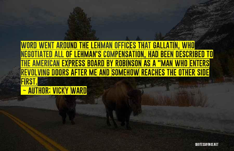 Vicky Ward Quotes 584998