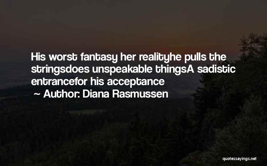 Victim Of Domestic Violence Quotes By Diana Rasmussen