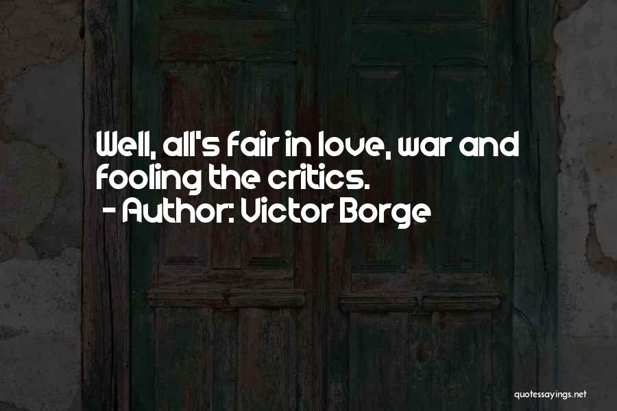 Victor Borge Music Quotes By Victor Borge