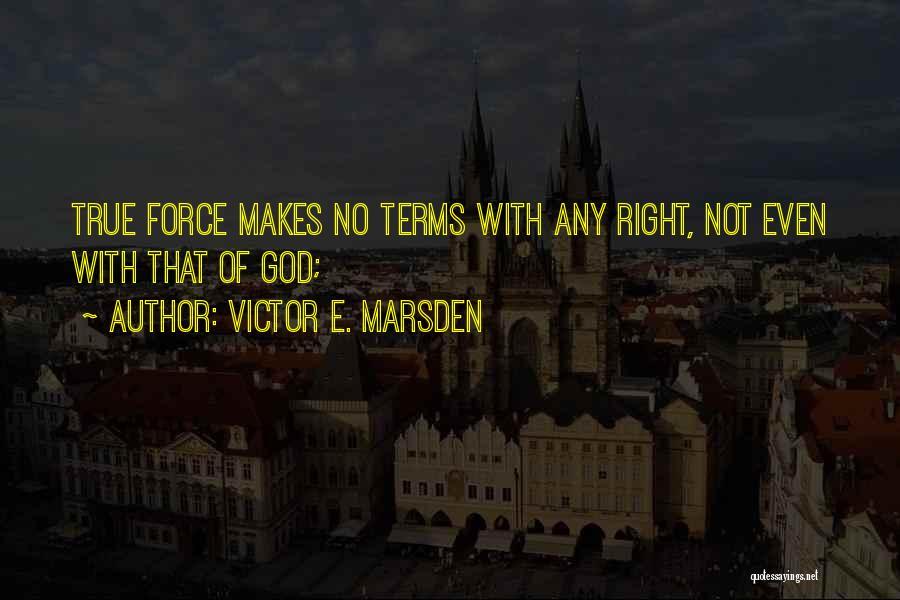 Victor E. Marsden Quotes 429404