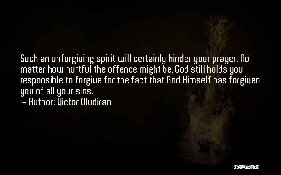 Victor Oludiran Quotes 1072393