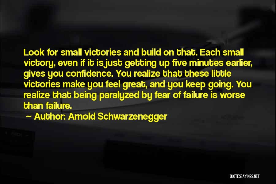 Victory And Failure Quotes By Arnold Schwarzenegger