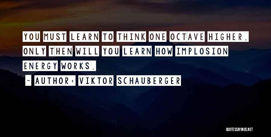 Viktor Schauberger Quotes 385346