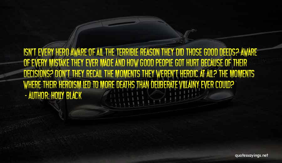 Villainy Quotes By Holly Black