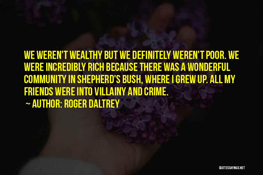Villainy Quotes By Roger Daltrey