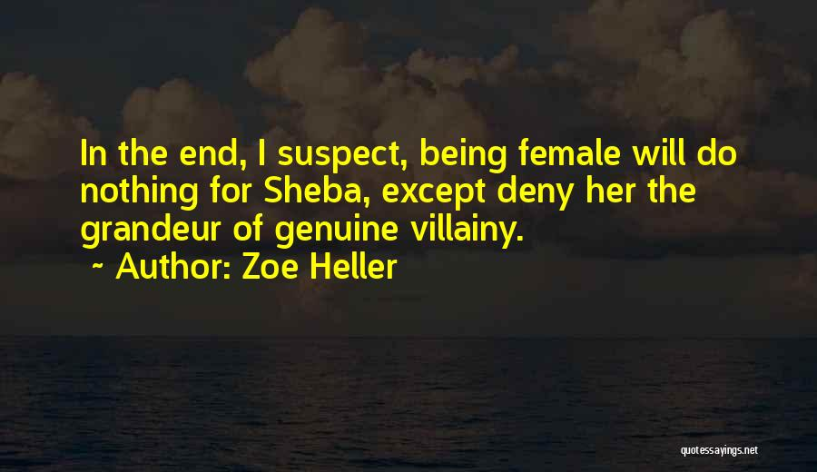 Villainy Quotes By Zoe Heller