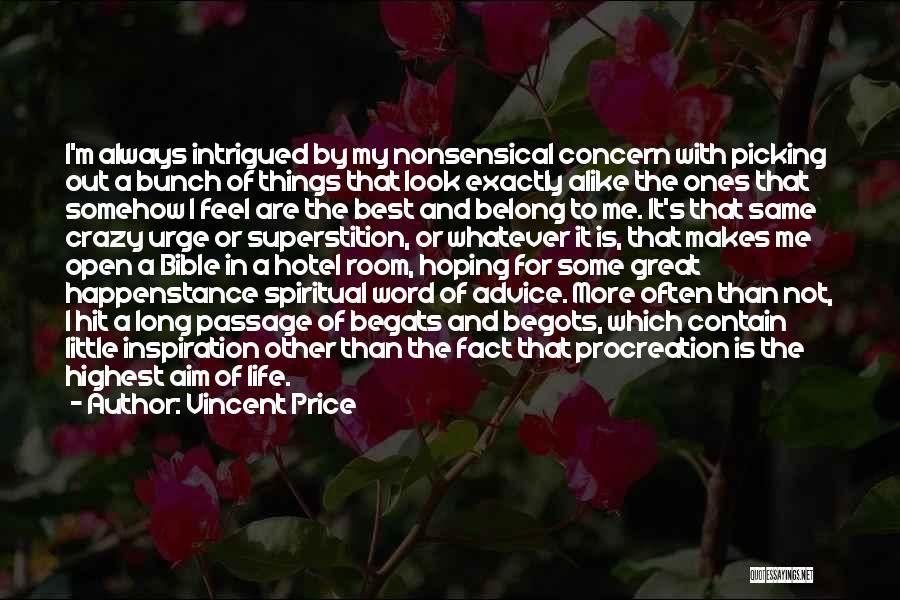 Vincent Price Quotes 1853513