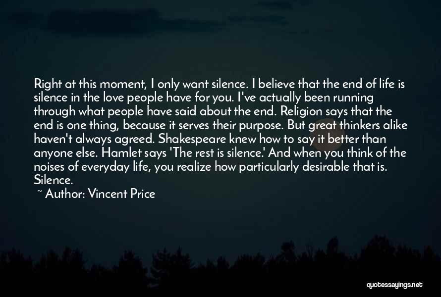 Vincent Price Quotes 243263