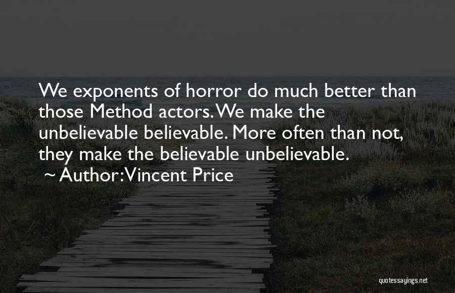 Vincent Price Quotes 714995