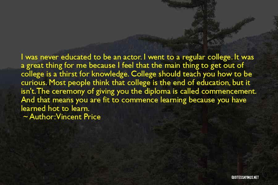 Vincent Price Quotes 814130