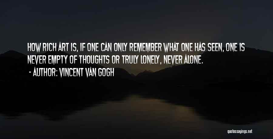 Vincent Van Gogh Quotes 95133