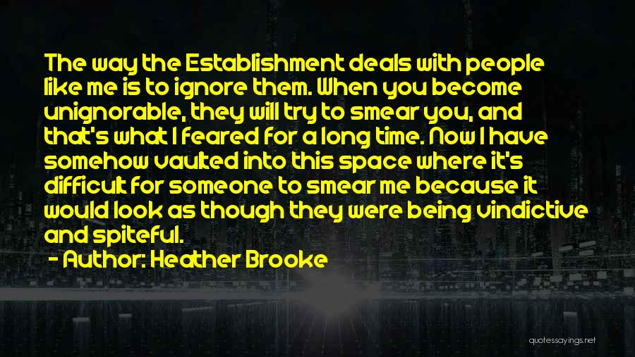 Vindictive Quotes By Heather Brooke