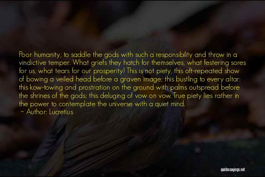 Vindictive Quotes By Lucretius