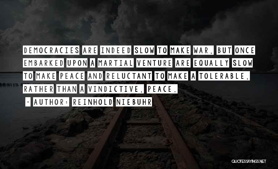 Vindictive Quotes By Reinhold Niebuhr