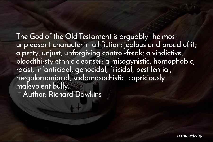 Vindictive Quotes By Richard Dawkins