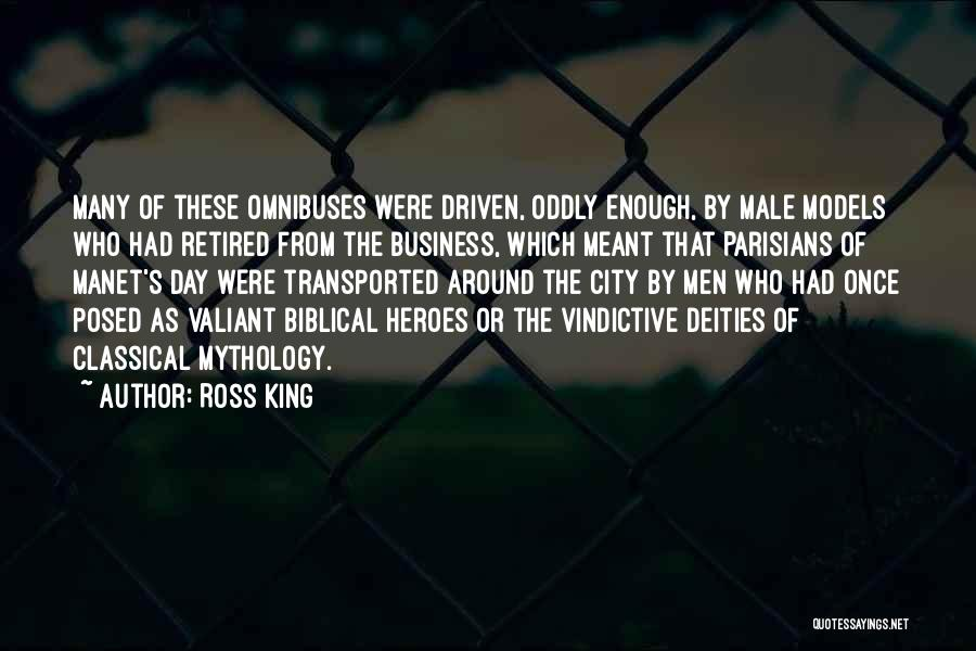 Vindictive Quotes By Ross King