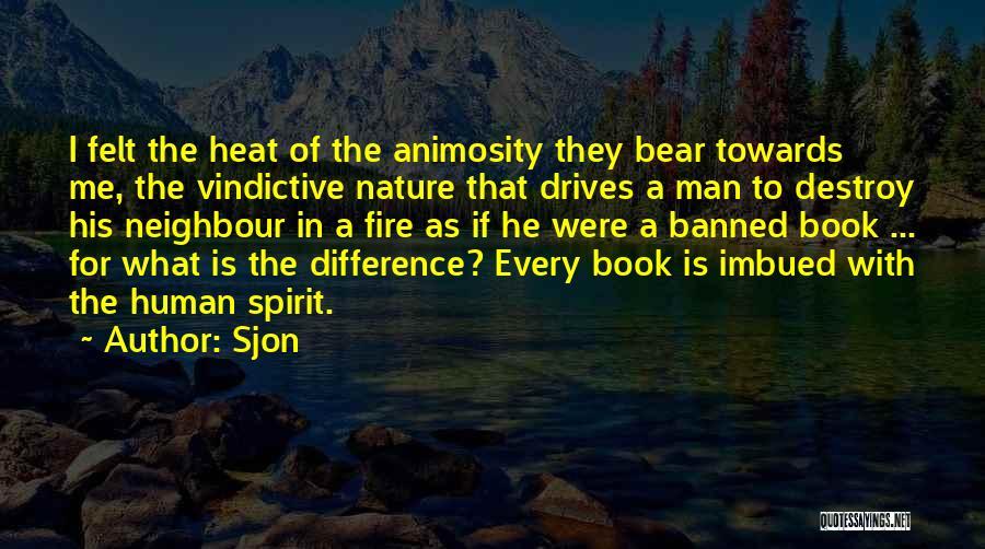 Vindictive Quotes By Sjon