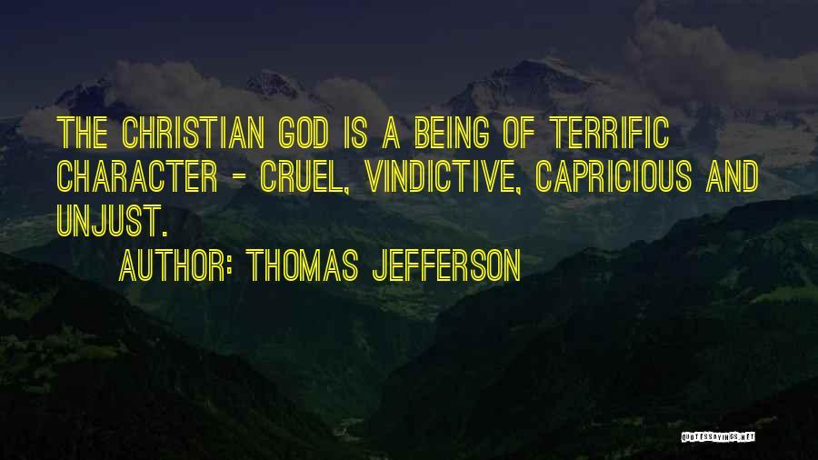 Vindictive Quotes By Thomas Jefferson