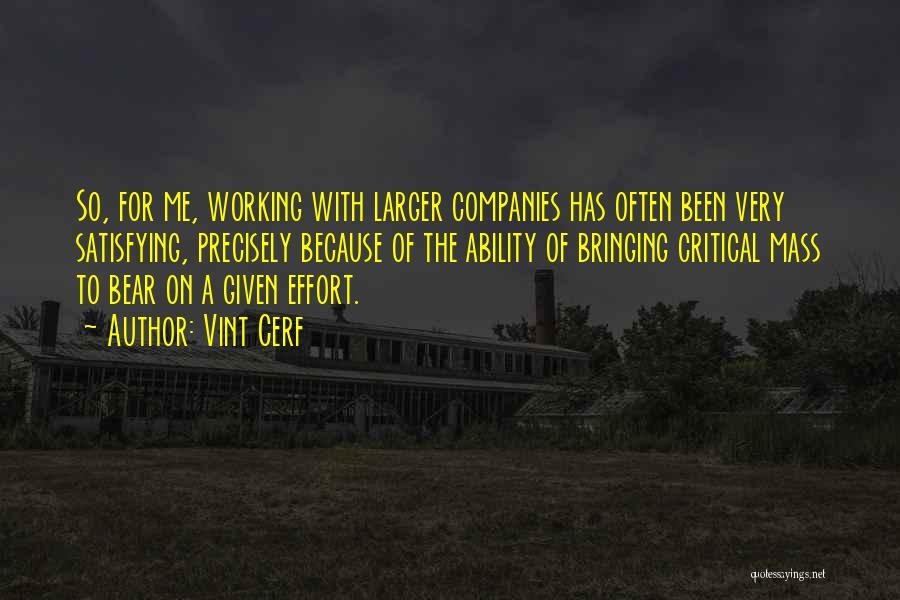 Vint Cerf Quotes 1916894