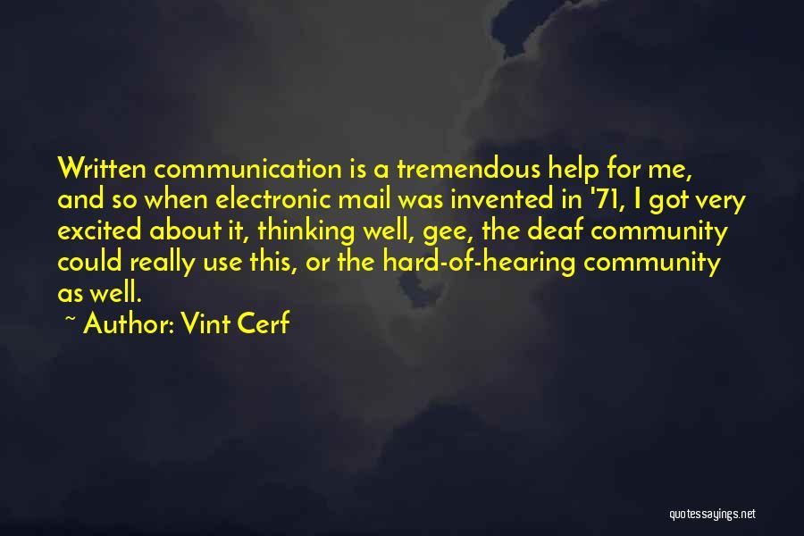 Vint Cerf Quotes 755780