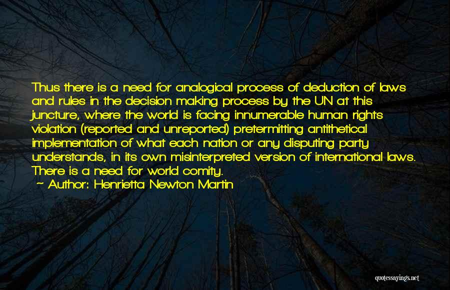 Violation Of Rights Quotes By Henrietta Newton Martin