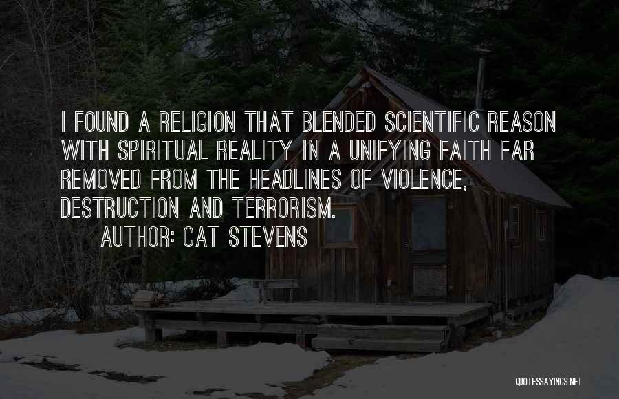 Violence And Terrorism Quotes By Cat Stevens