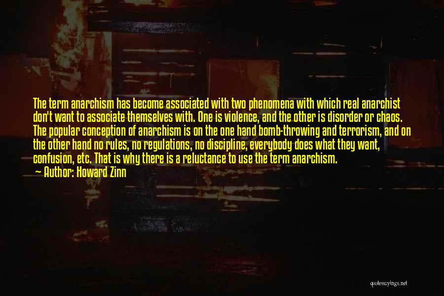 Violence And Terrorism Quotes By Howard Zinn