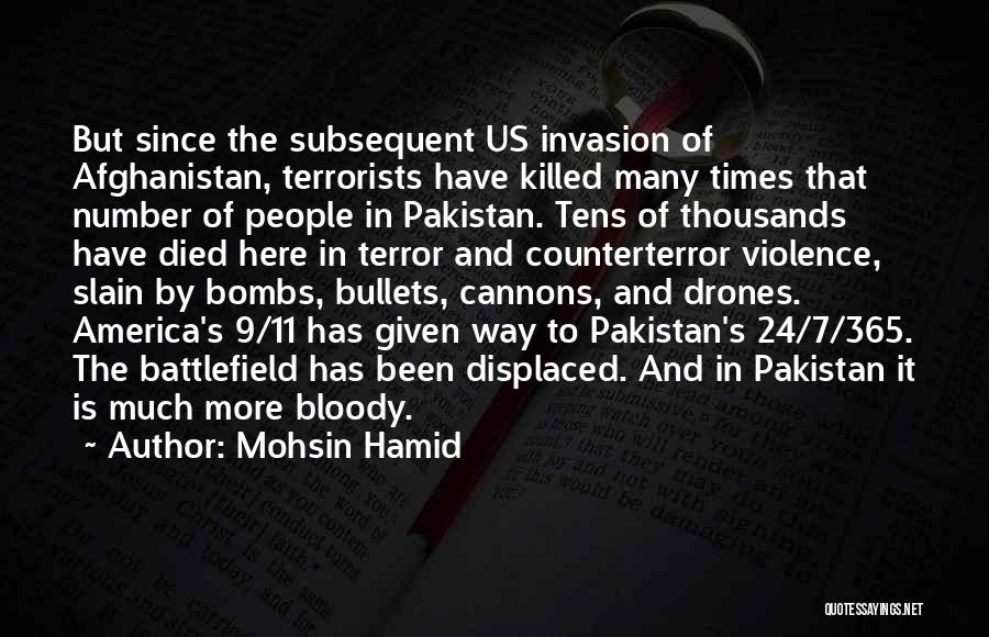 Violence And Terrorism Quotes By Mohsin Hamid