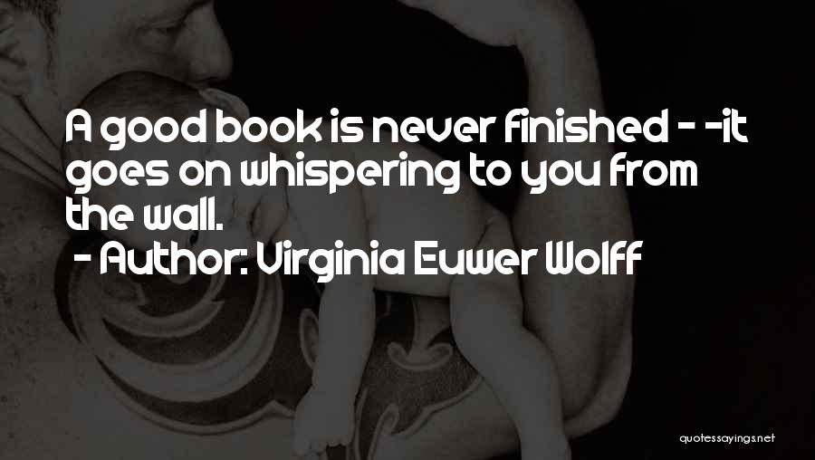 Virginia Euwer Wolff Quotes 1596103