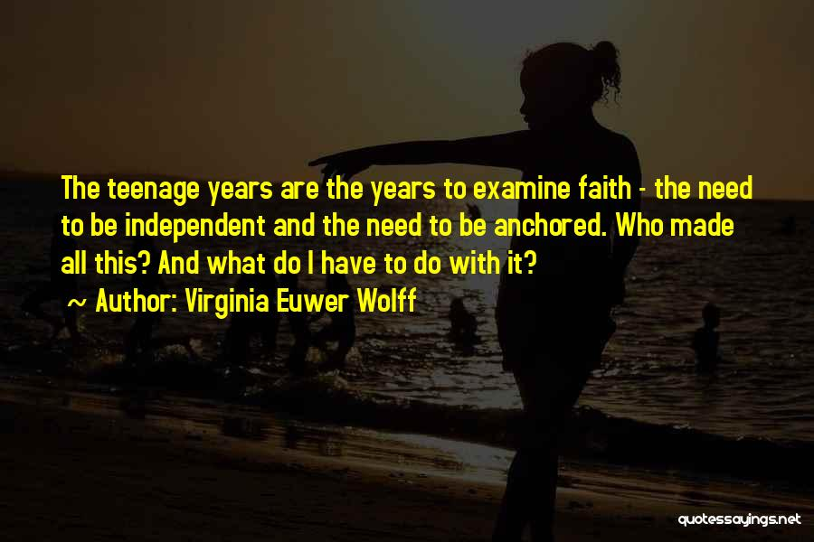 Virginia Euwer Wolff Quotes 317310