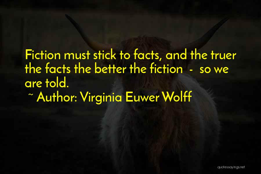 Virginia Euwer Wolff Quotes 513654