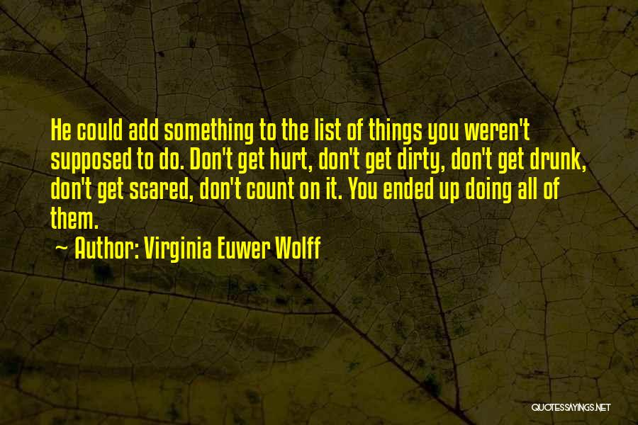 Virginia Euwer Wolff Quotes 577610