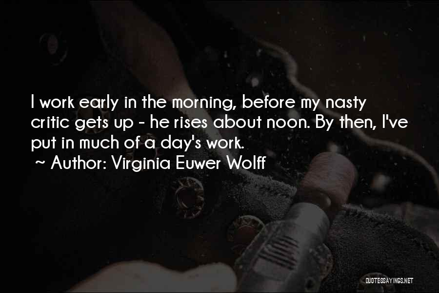 Virginia Euwer Wolff Quotes 671517
