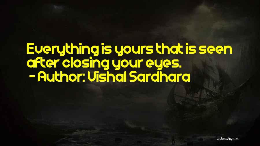 Vishal Sardhara Quotes 1342006