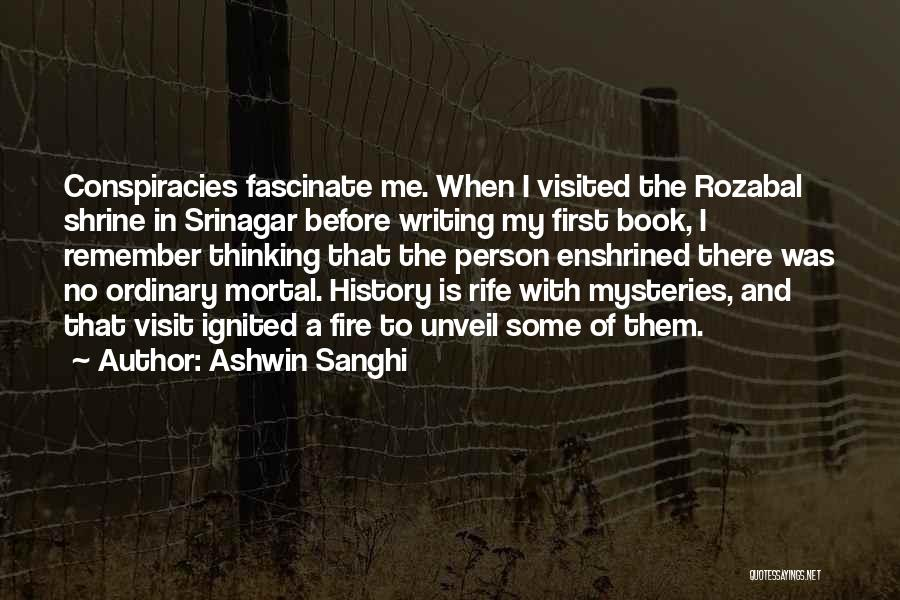 Visited Quotes By Ashwin Sanghi