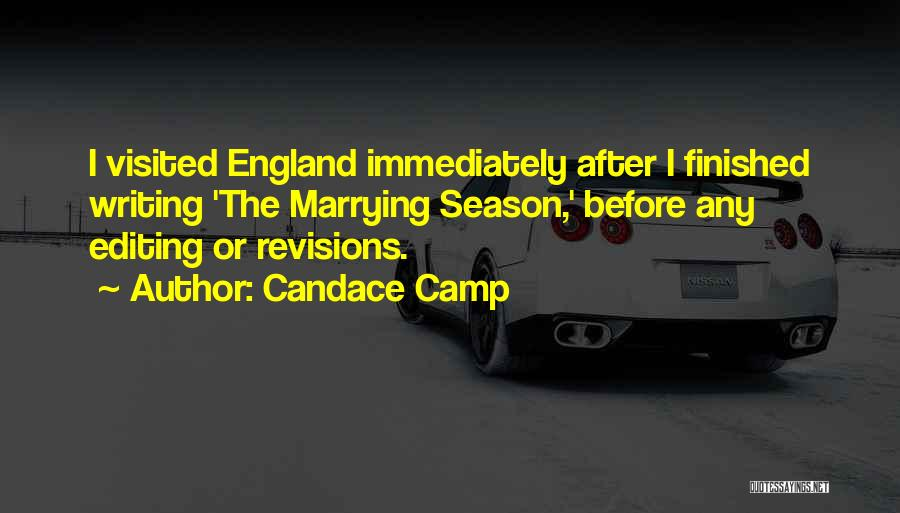 Visited Quotes By Candace Camp