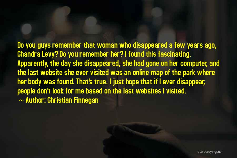 Visited Quotes By Christian Finnegan