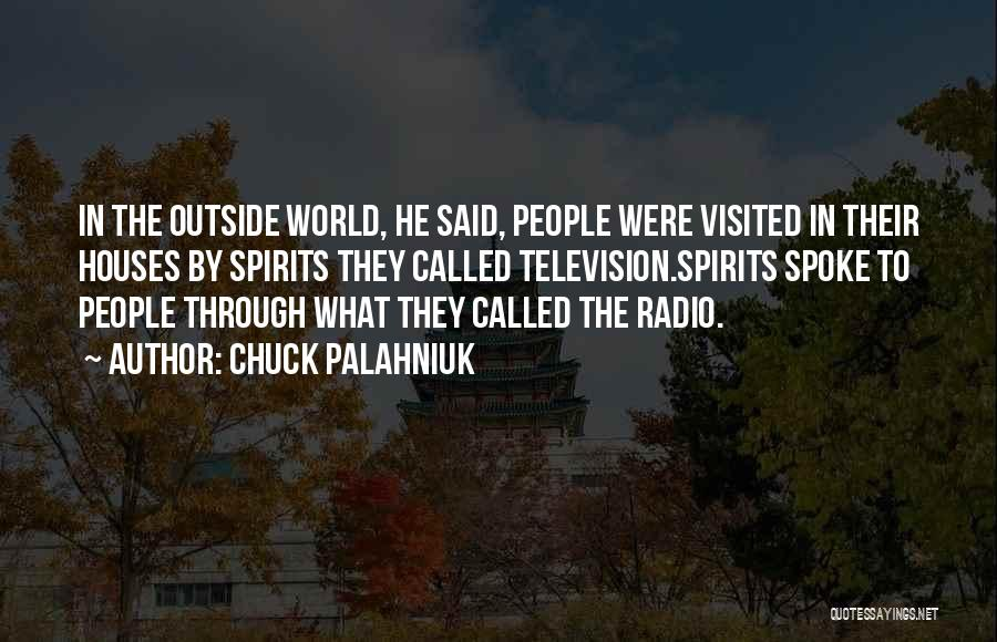 Visited Quotes By Chuck Palahniuk