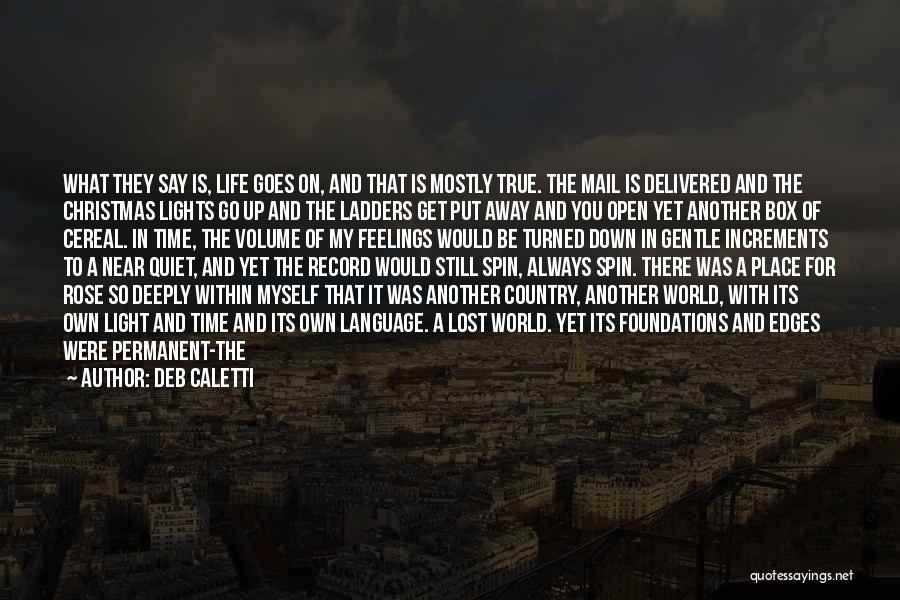 Visited Quotes By Deb Caletti