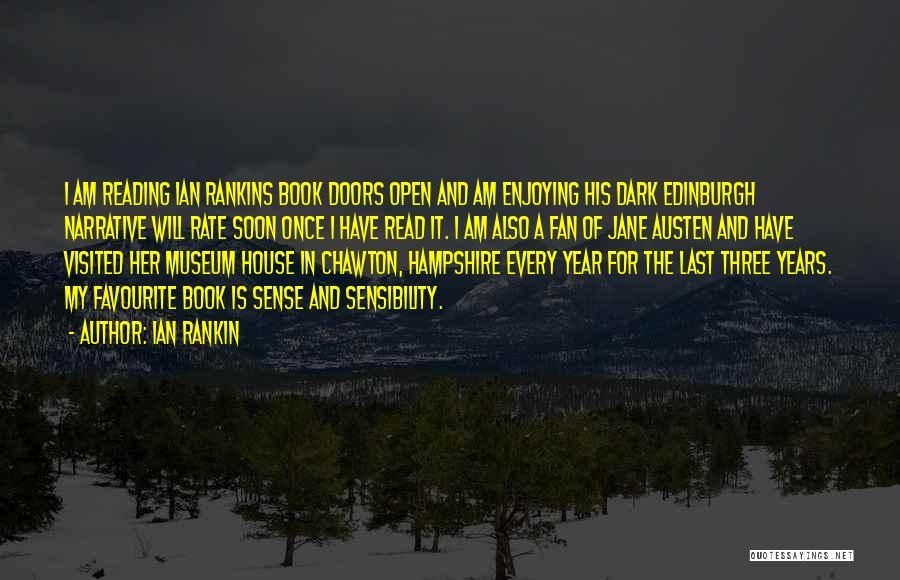 Visited Quotes By Ian Rankin