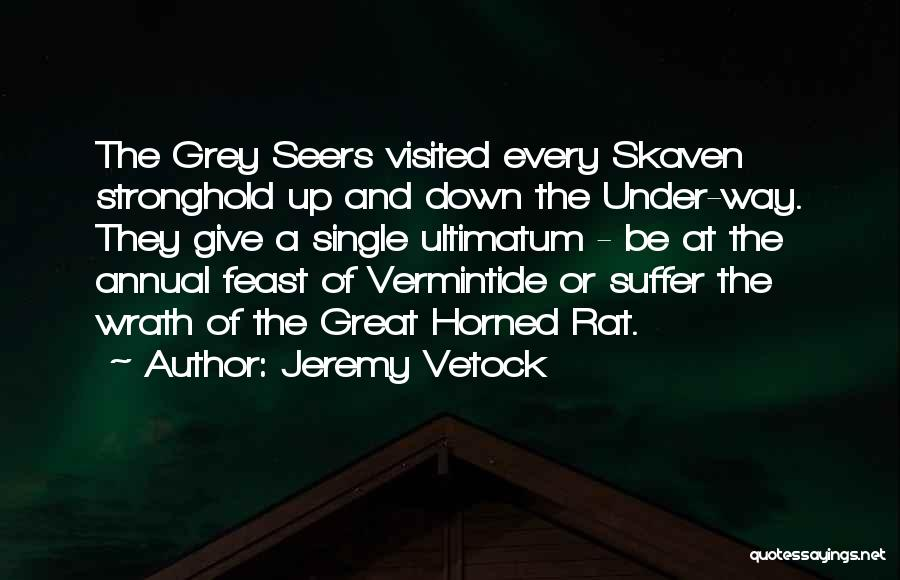 Visited Quotes By Jeremy Vetock