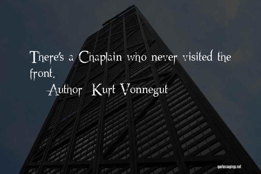 Visited Quotes By Kurt Vonnegut