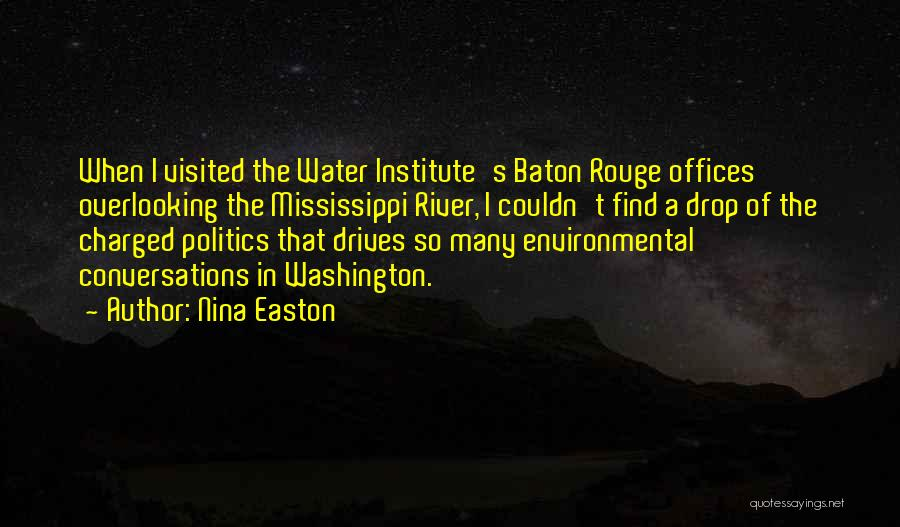 Visited Quotes By Nina Easton
