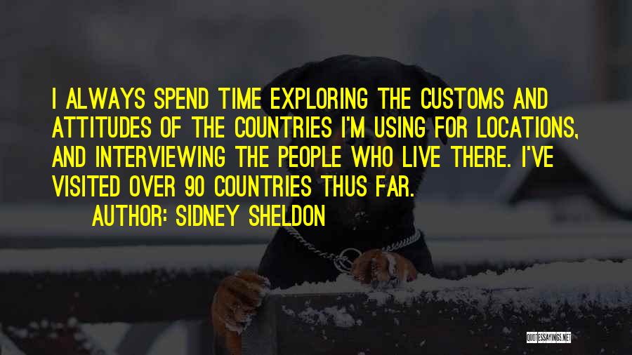 Visited Quotes By Sidney Sheldon