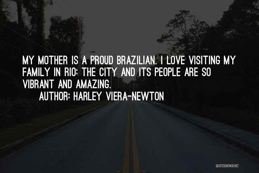 Visiting Family Quotes By Harley Viera-Newton