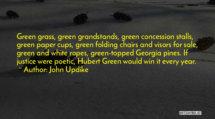 Visors Quotes By John Updike