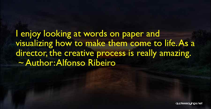 Visualizing Life Quotes By Alfonso Ribeiro