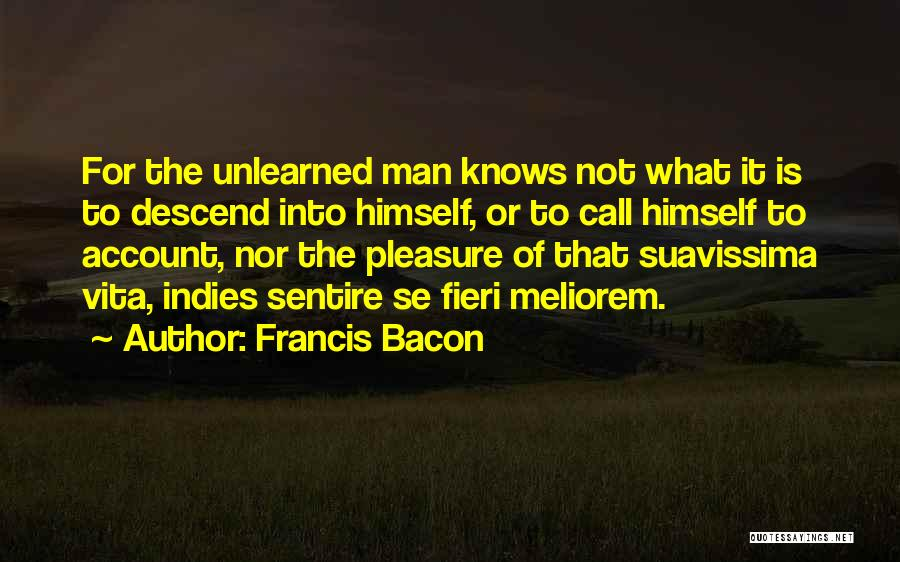 Vita Plus Quotes By Francis Bacon