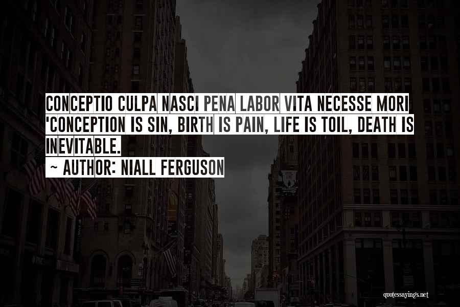 Vita Plus Quotes By Niall Ferguson